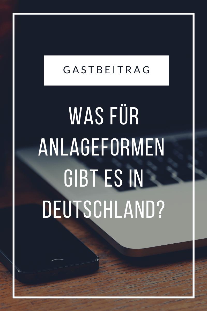Geldanlagen in Deutschland