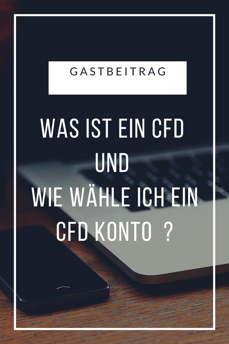 CFD Konto wählen