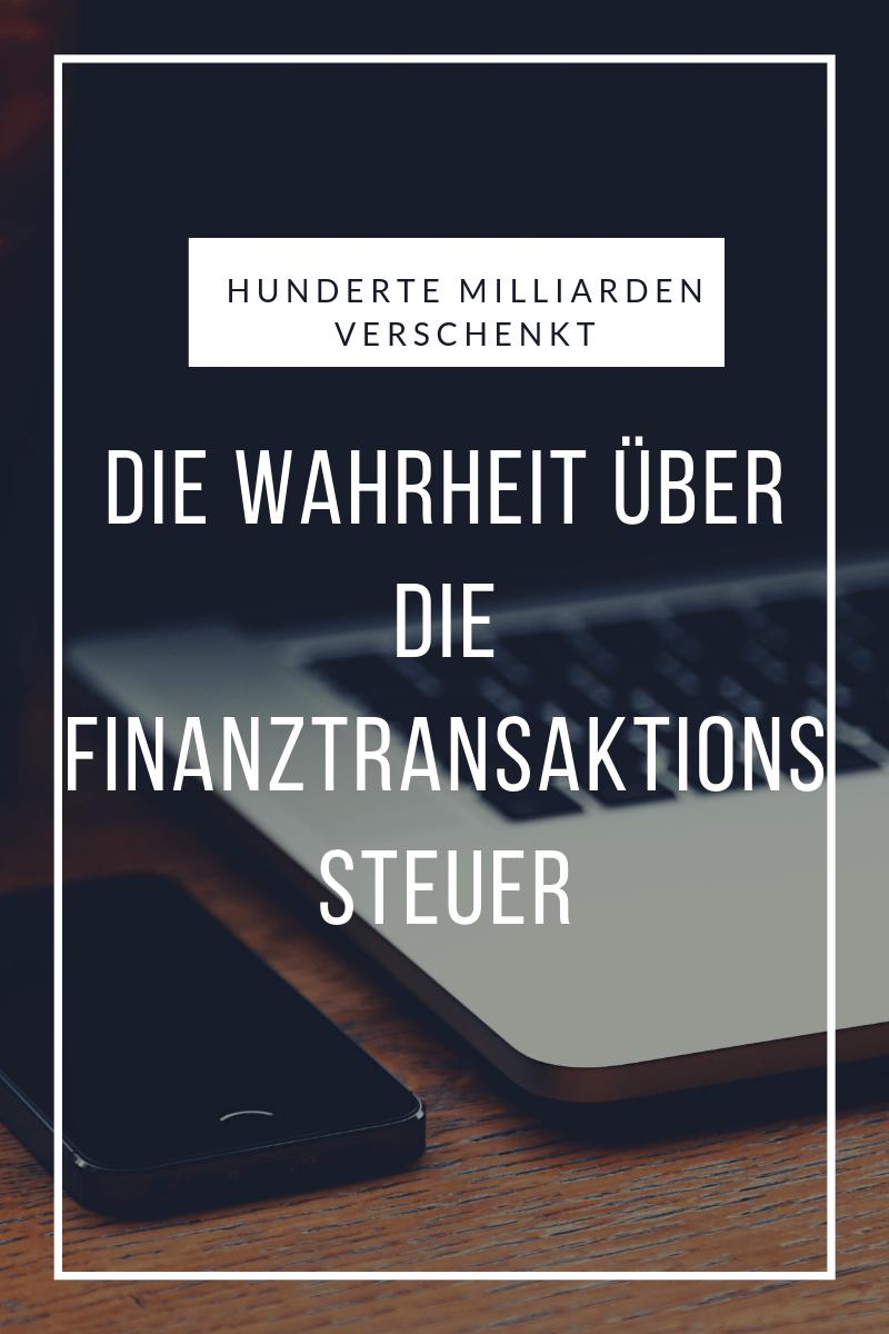 Finanztransaktionssteuer Blogbeitrag