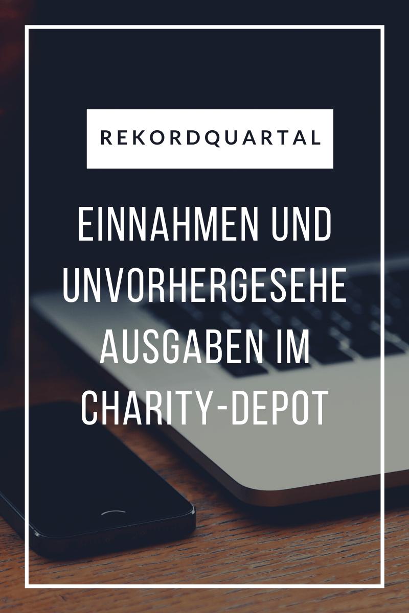 Rekordquartal im Charity DepotDepot